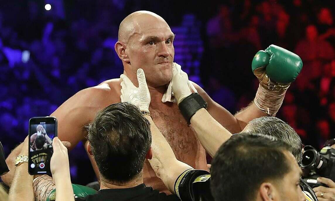 WBC mendukung Fury vs Joshua
