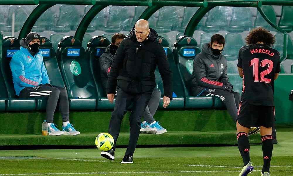 Zidane: 'Real seharusnya menyelesaikan pertandingan'