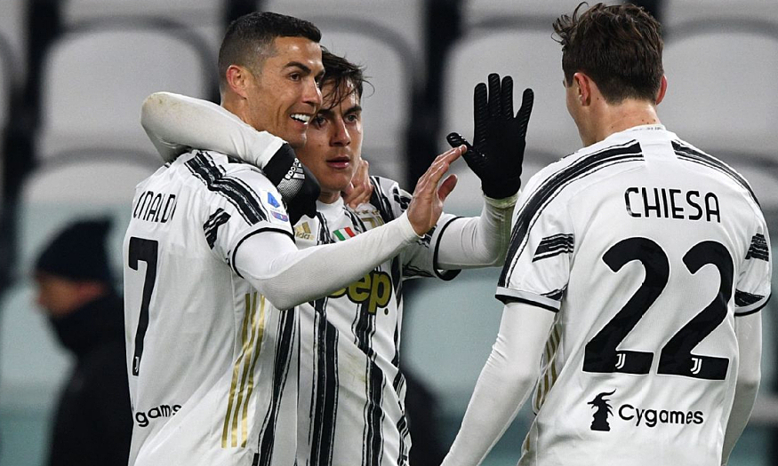 Pahlawan Juventus mempelajari Ronaldo