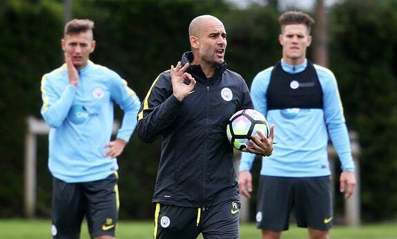 Guardiola mencegah pemain Man City itu berlari selama latihan