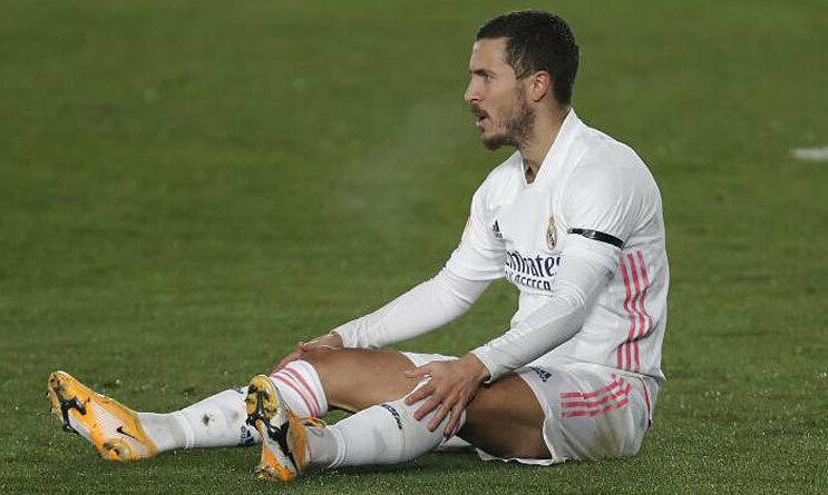 Hazard kehilangan bola enam kali dalam kekalahan Real