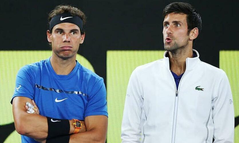 Mantan pelatih Federer menempatkan Nadal di ambang pintu di bawah Djokovic