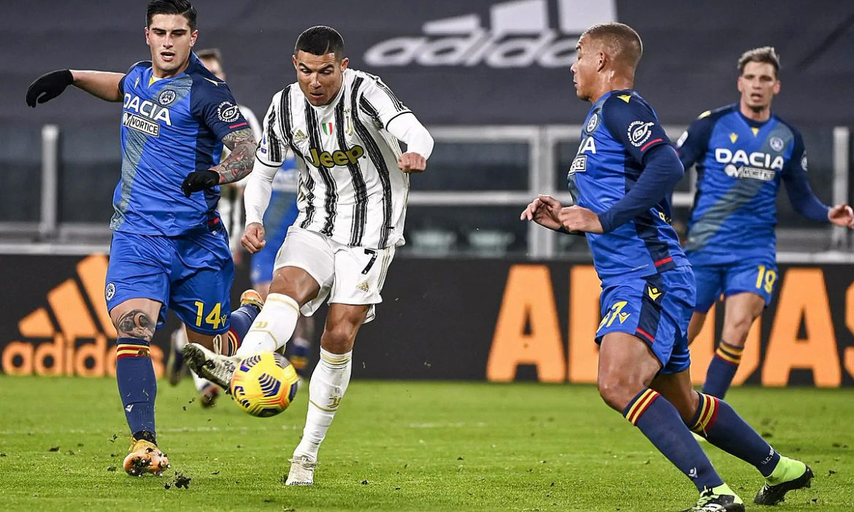 Ronaldo membantu Juventus untuk menang