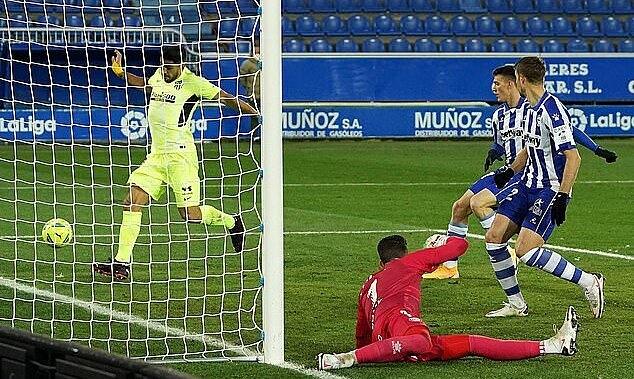 Suarez mencetak rekor di Atletico