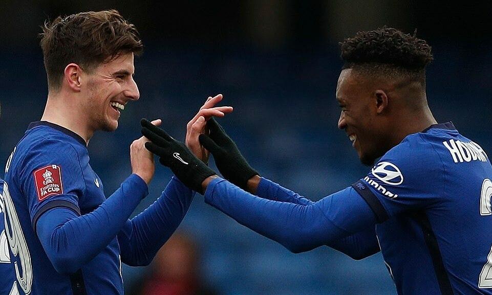 Chelsea menemukan kegembiraan di Piala FA