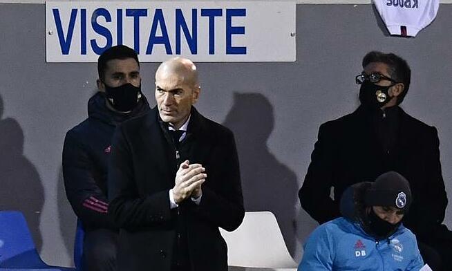 Zidane: 'Tidak perlu malu kalah dari tim lapis ketiga'