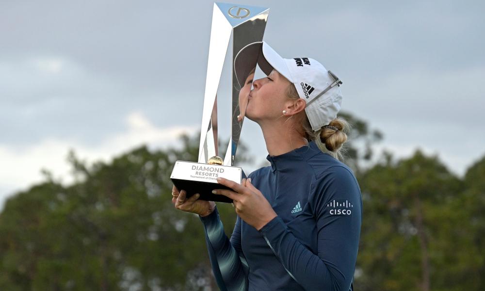 Jessica Korda memenangkan Turnamen Champions