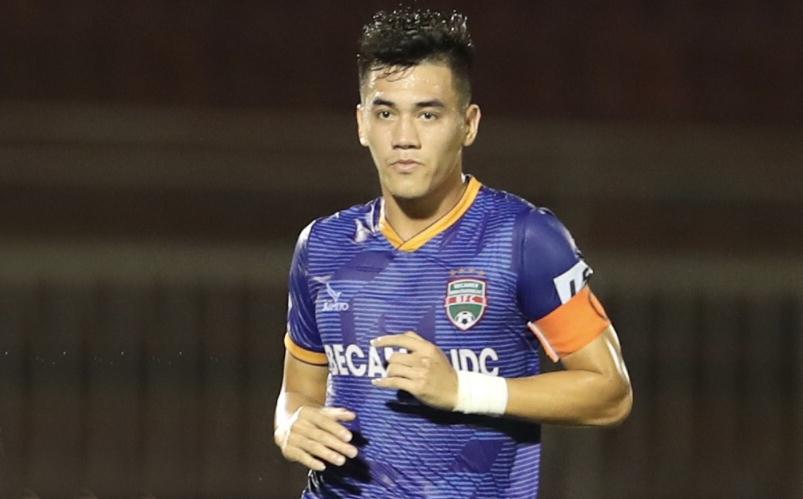 Tien Linh kehilangan kapten Binh Duong