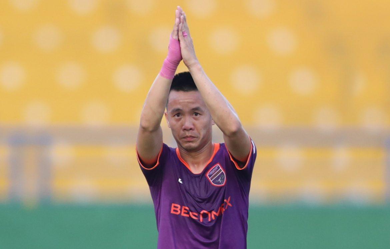 Pahlawan Binh Duong meminta maaf karena mencetak gol melawan Thanh Hoa