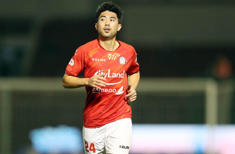 Lee Nguyen diminta untuk menendang di awal V-League