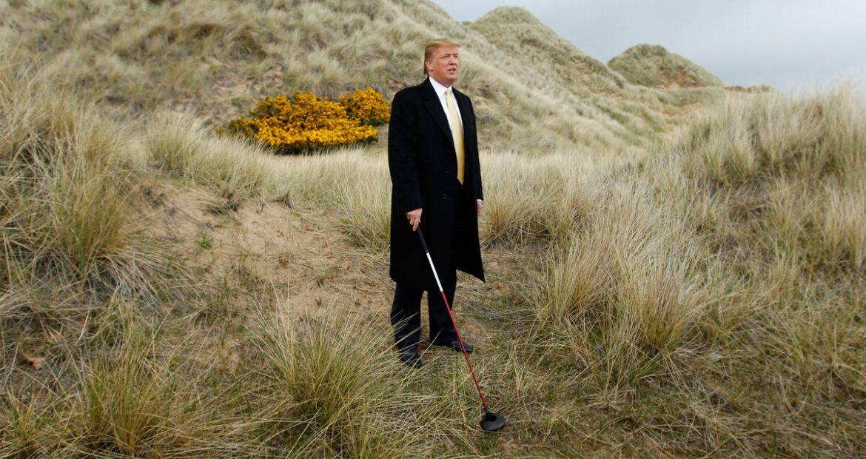 Resor golf Trump terus kalah