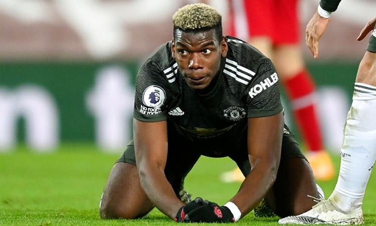 Pogba meminta maaf setelah pertandingan Liverpool