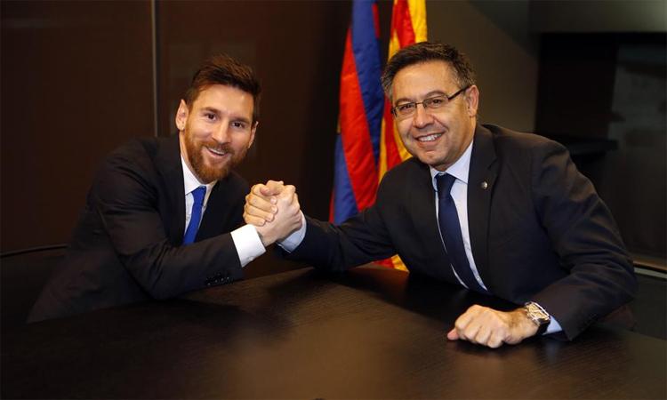 Messi menerima bonus $ 47 juta sebelum meminta untuk meninggalkan Barca