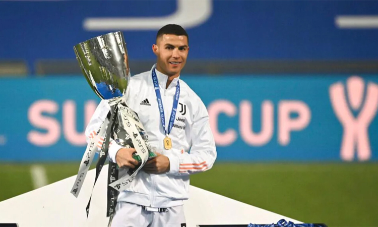 Ronaldo: 'Scudetto masih di tangan Juventus'