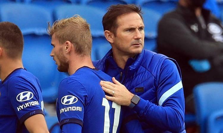 Lampard melihat Werner sebagai senjata untuk mengalahkan Man City