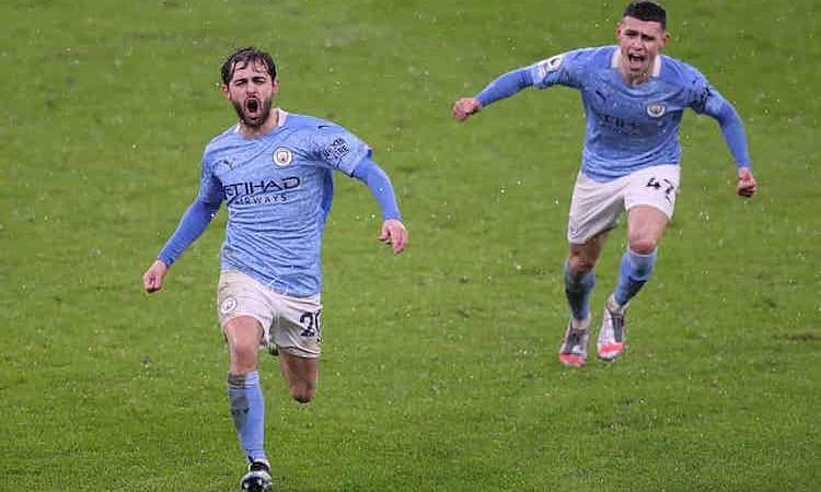 Man City terus mengejar Man Utd