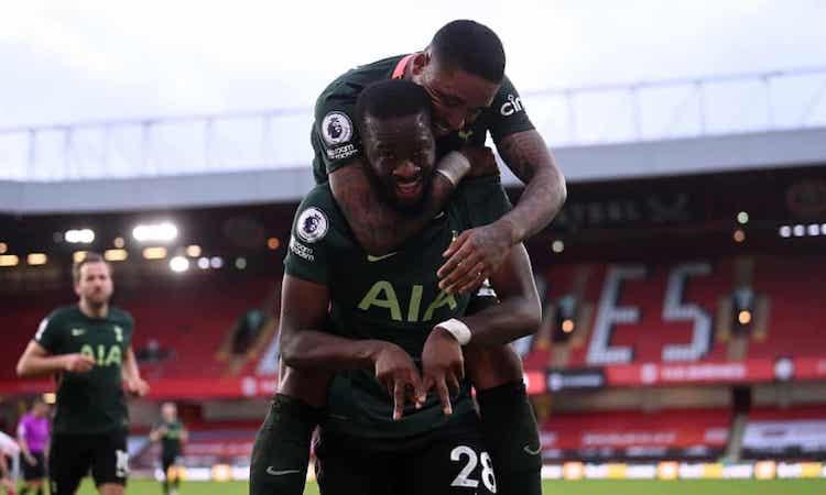 Tottenham berada di urutan keempat di Liga Premier