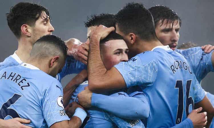 Man City memenangkan pertandingan ketujuh berturut-turut