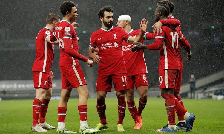 Liverpool mengalahkan Tottenham untuk kedua kalinya