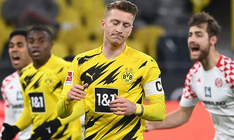 Dortmund dihentikan oleh tim
