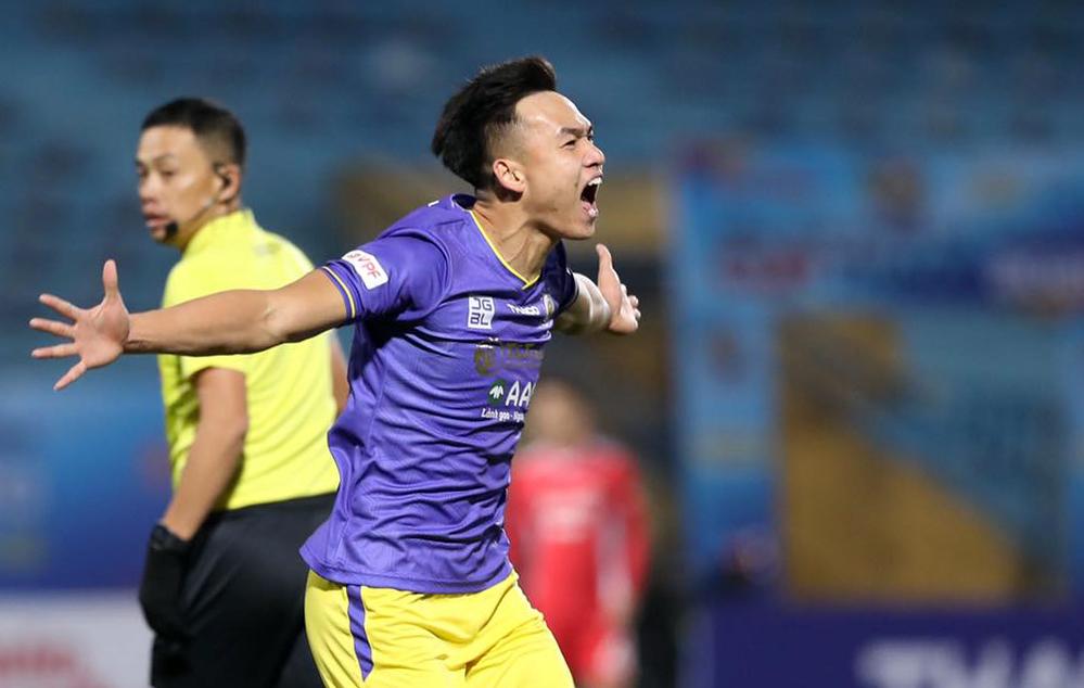 Pelatih Chu Dinh Nghiem: 'Hanoi memiliki banyak pemain bertahan yang bisa mencetak gol'