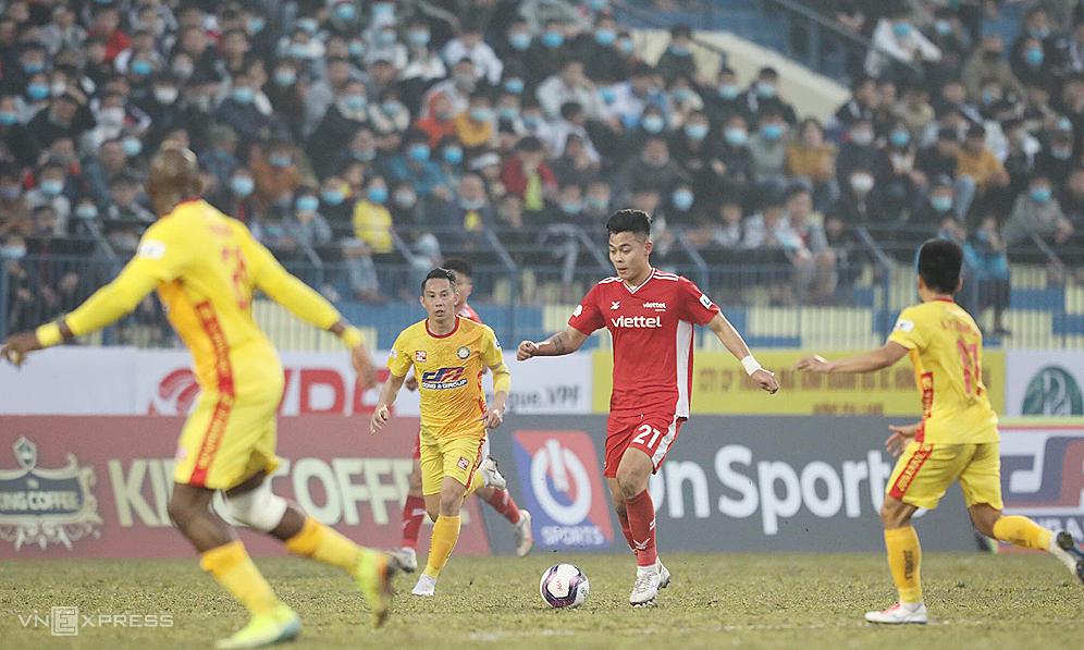 Pelatih Viettel mengkritik halaman Thanh Hoa yang buruk