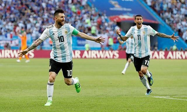 Di Maria: 'Messi datang ke PSG, saya bisa gantung sepatu dengan aman'