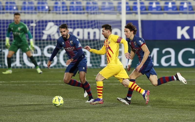 Messi mencapai 500 pertandingan La Liga