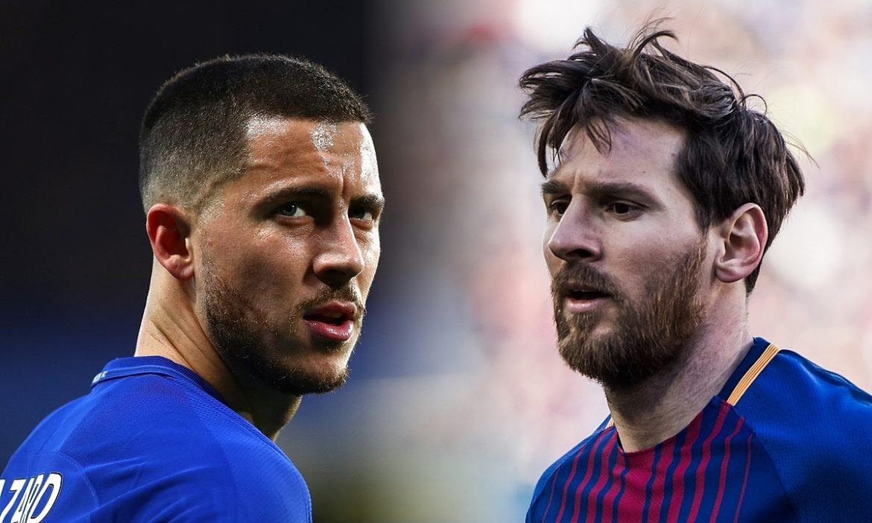Hazard: 'Saya ingin kaki kiri Messi atau keinginan Ronaldo'