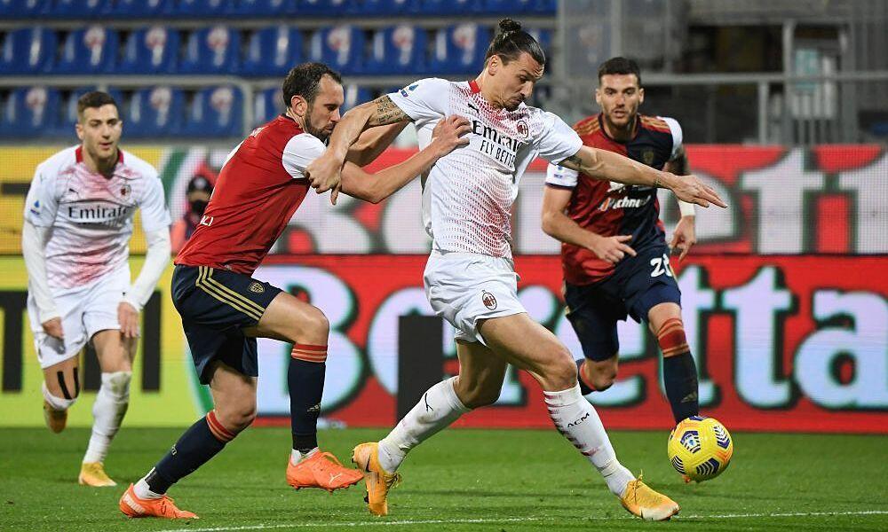Ibrahimovic berusaha membuktikan tidak kalah dengan juniornya di Milan