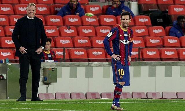 Koeman berjanji akan menghormati semua keputusan Messi