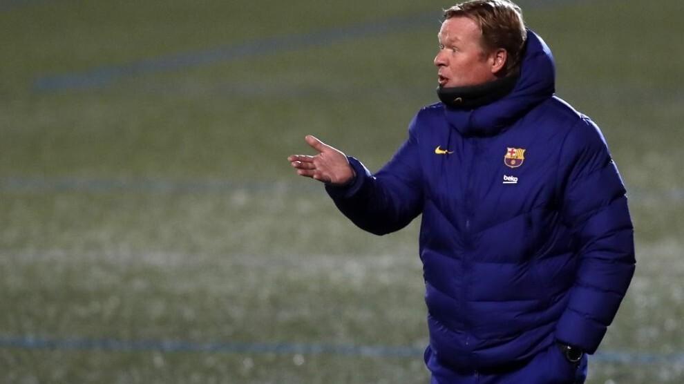 Koeman menyalahkan pemain Barca itu tidak bertanggung jawab