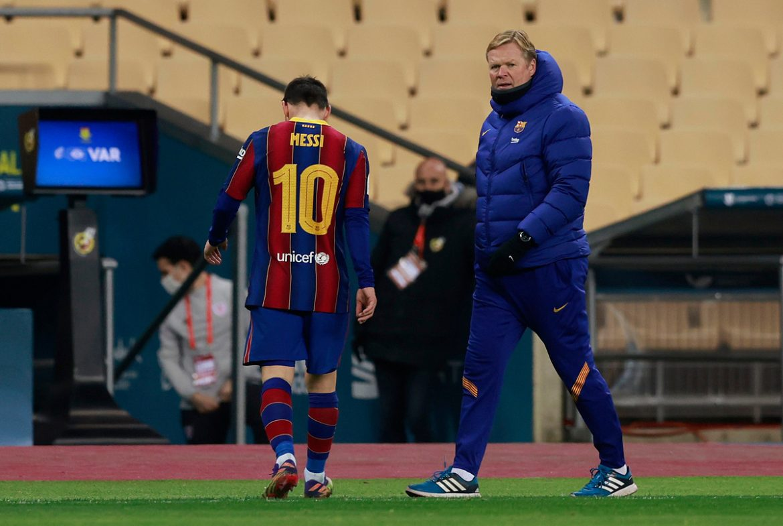 Pelatih Koeman: 'Barca masih membutuhkan Messi untuk menang'