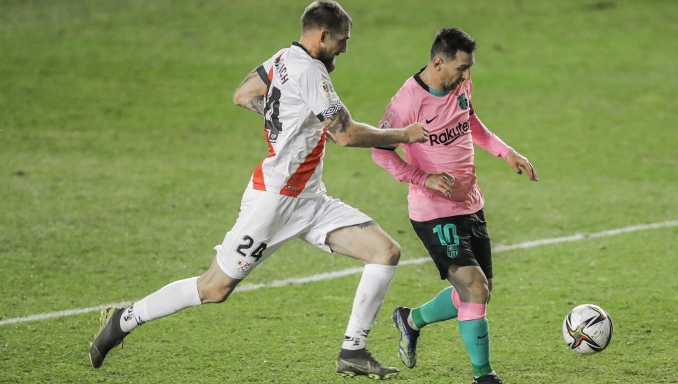 Messi membawa Barca ke babak perempat final Piala Raja