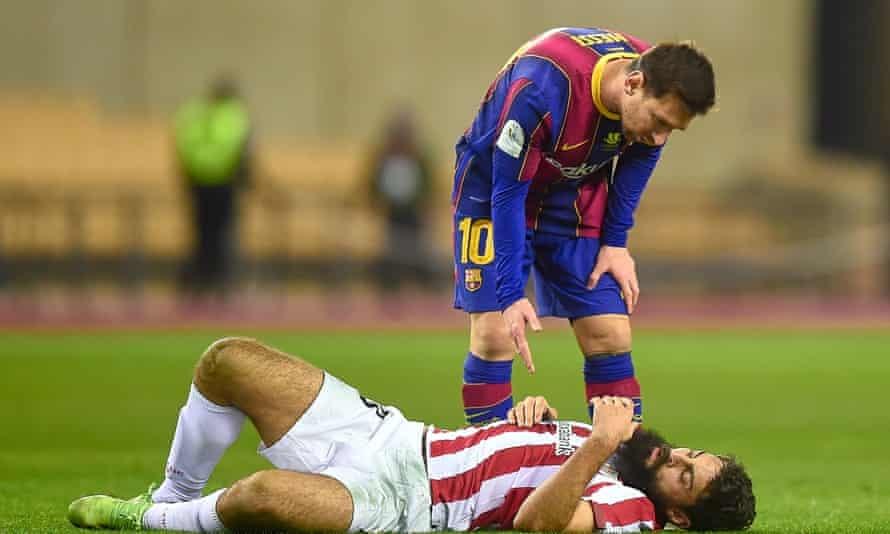Messi diskors selama dua pertandingan