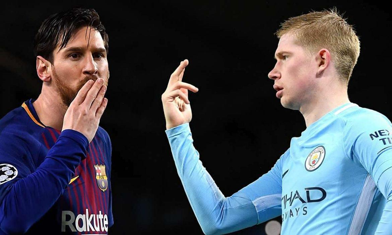 Man City mengurangi gaji De Bruyne karena Messi