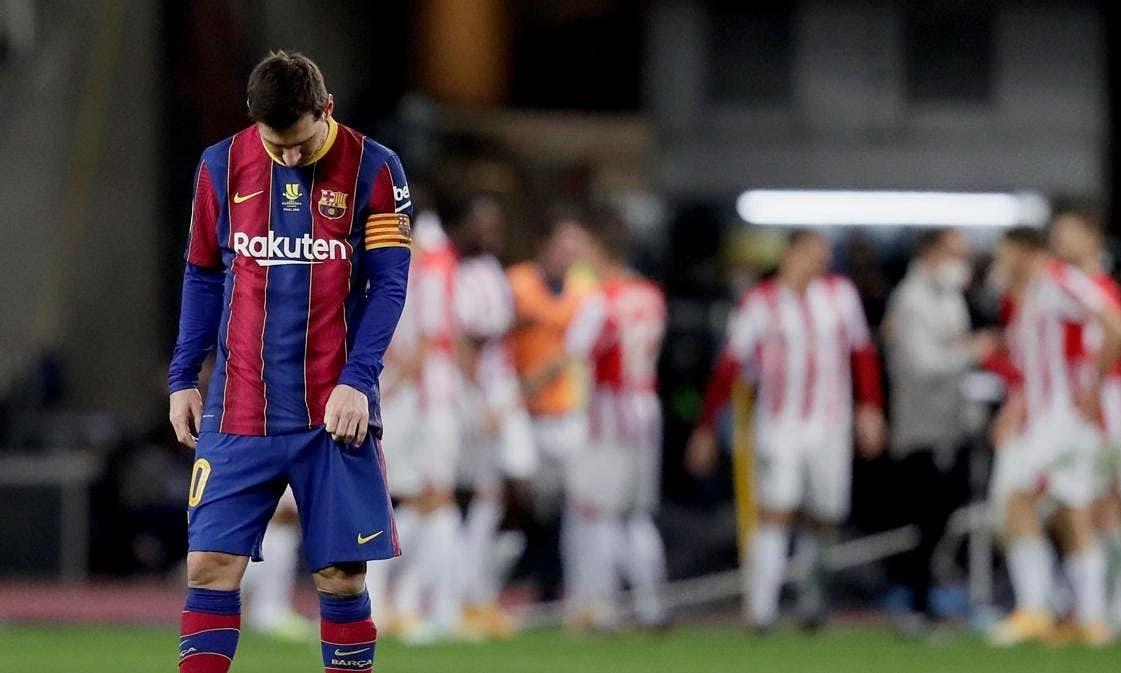 Messi meninju dua pemain Bilbao