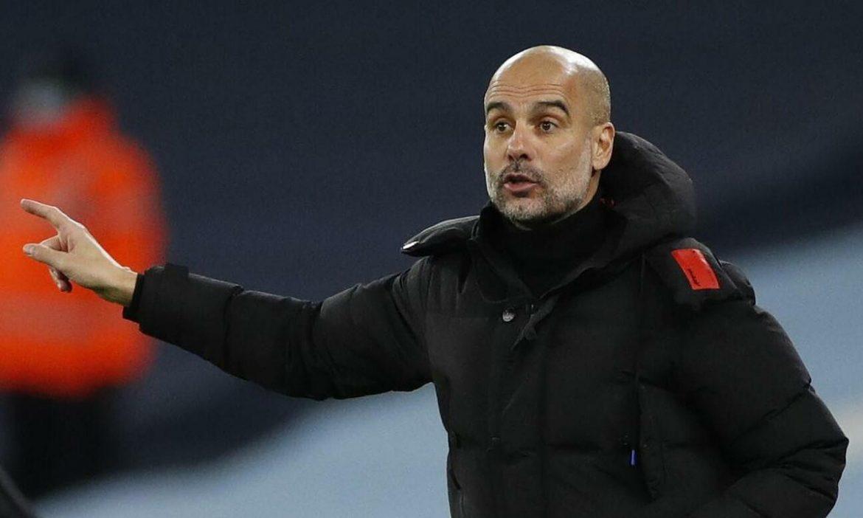 Guardiola: 'Saya tidak bisa memikirkan Man Utd sekarang'