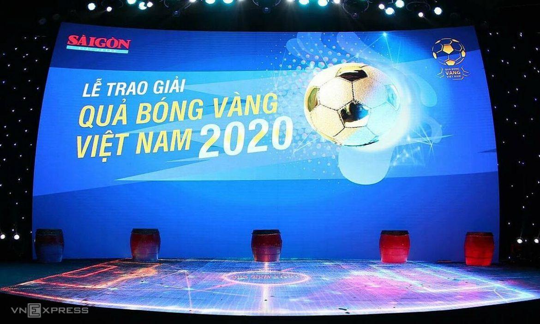 Pemberian Golden Ball 2020 secara langsung