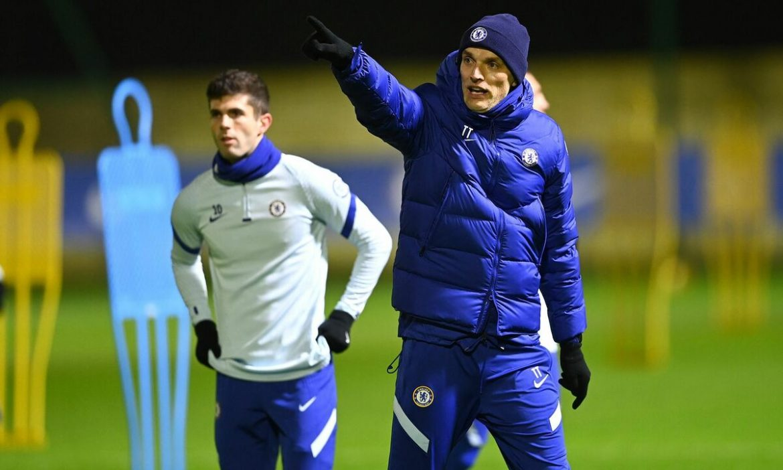 Tuchel tiba di tempat latihan segera setelah dia ditunjuk oleh Chelsea
