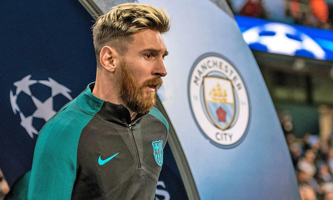 Man City bersedia membayar Messi $ 1,4 juta per minggu