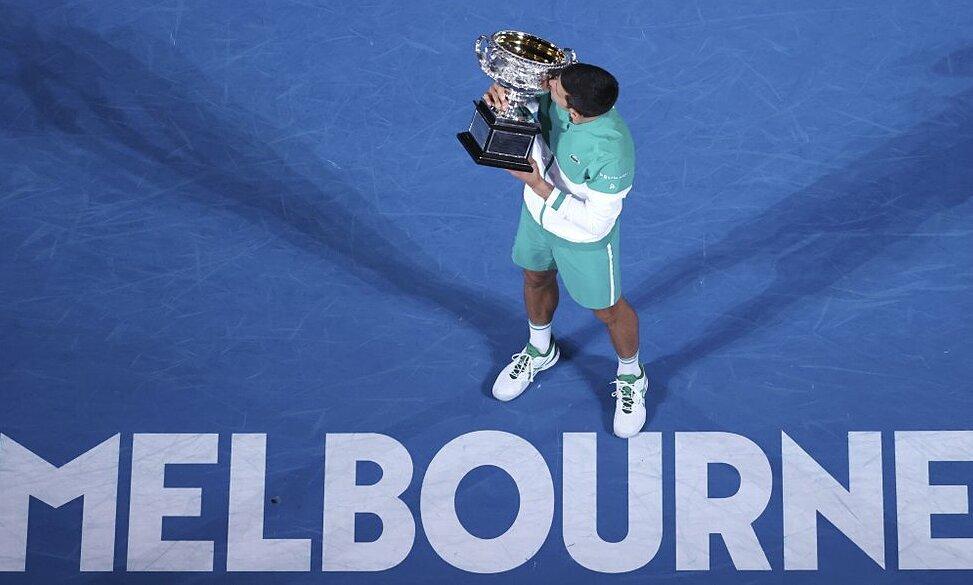 Djokovic memenangkan Australia Terbuka 2021