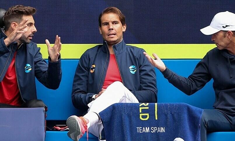 Nadal absen dari pertandingan pembukaan ATP Cup