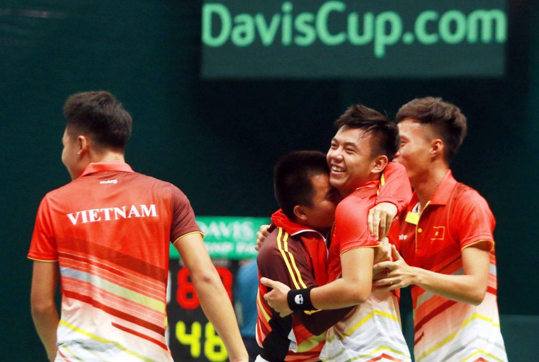 Vietnam menjadi tuan rumah turnamen tenis Piala Davis