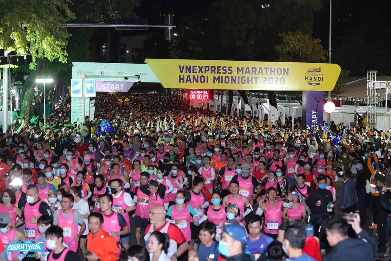 Buka gerbang pendaftaran untuk Preferential Week Hanoi Night Runs
