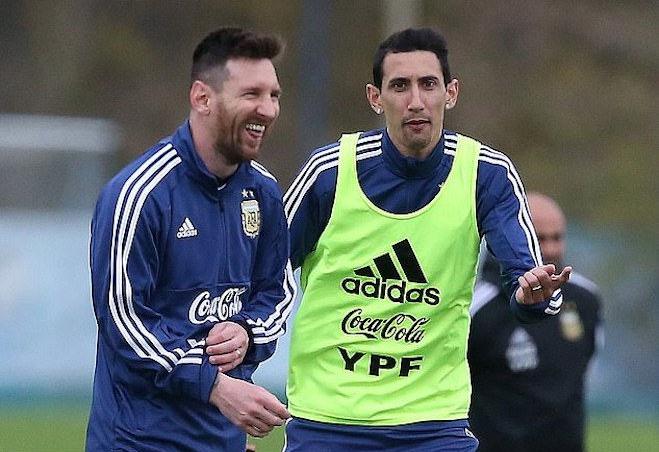 Di Maria yakin Messi akan bergabung dengan PSG