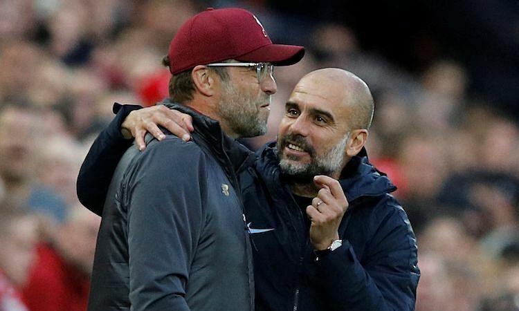 Guardiola: 'Saya pikir Klopp bukan pelatih seperti itu'