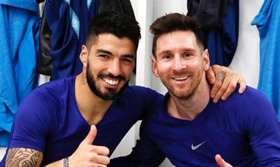 Suarez: 'Tidak ada yang memberi lebih banyak kepada Barca selain Messi'