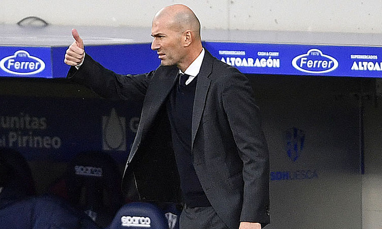 Zidane senang dengan kemampuan beradaptasi Real