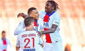 PSG menang dengan gembira saat Mbappe mencetak dua gol
